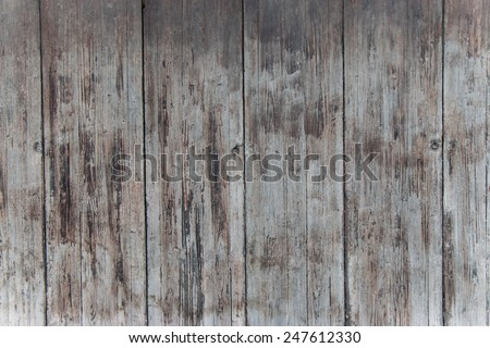 Old Wooden Panel Background - stock photo