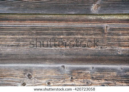Old wooden panels