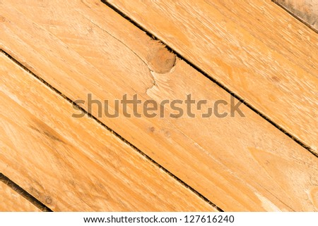 Old wooden planks in full frame take