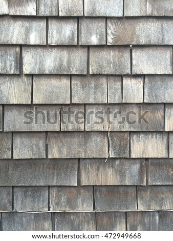 old wooden roof texture