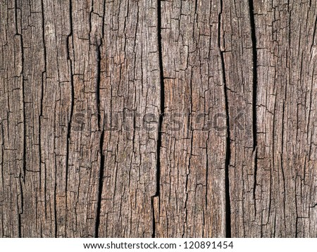 old wooden surface. - stock photo