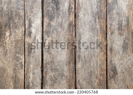 Old wooden texture or background - stock photo