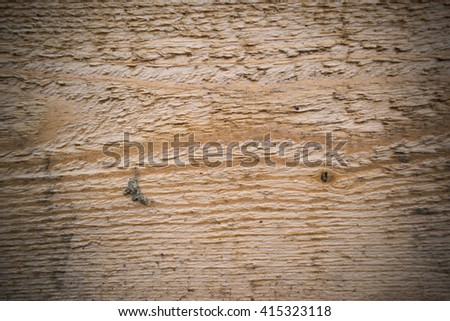 Old wooden wall and bars create beautiful picture, the old loose paint gives a special kind of photography.It can be used as the background or texture for any photo editor. - stock photo