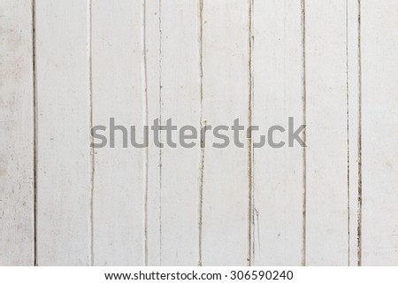 Old wooden white background
