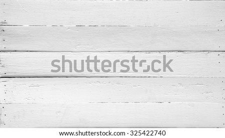 Old wooden white background. - stock photo