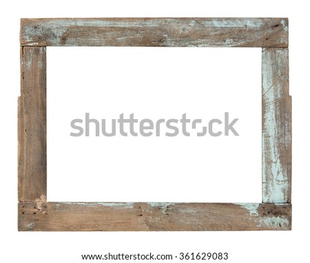 Wooden Window Frame Stock Royalty Free