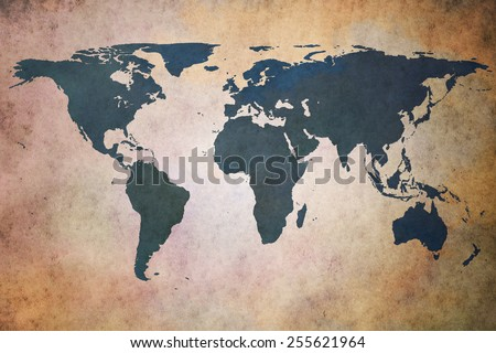 Grunge world map background stock photo 606620270 shutterstock old world map gumiabroncs Gallery
