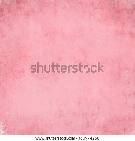old worn pink background with grunge texture, soft faded lighting, and copy space - stock photo