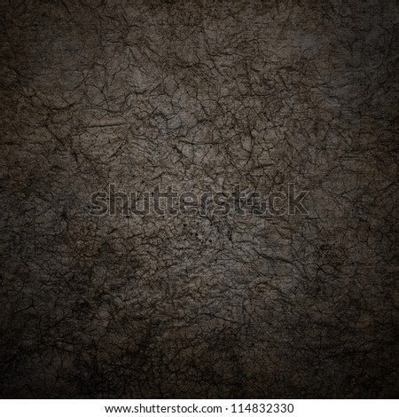 Old wrinkled paper background. - stock photo