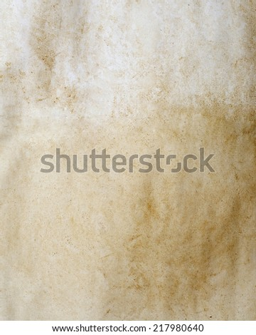 old wrinkled paper for background - stock photo