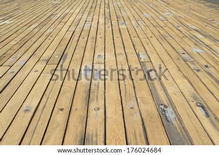 old yellow wooden boards texture