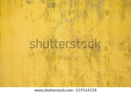 old yellow wooden planks. Wood background texture