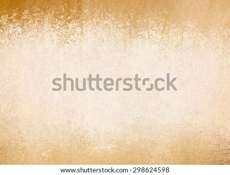 old yellowed paper background with vintage texture layout, off white or cream background color with brown grunge border design - stock photo