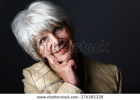 Older woman - stock photo