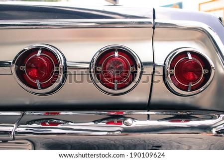 Oldtimer, vintage light car, classic. - stock photo