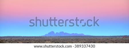 Olgas, Australian outback - stock photo