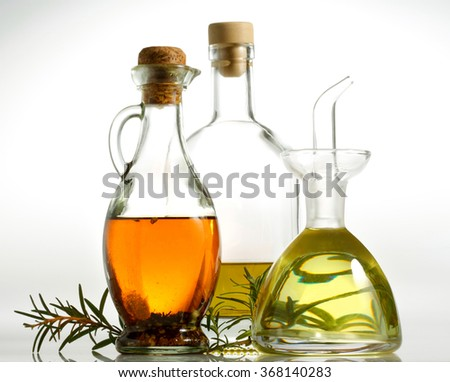 Olive oil  isolated on white background