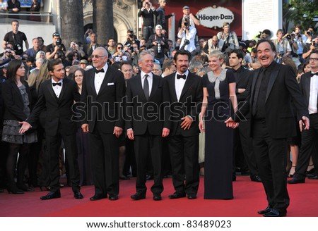 "Oliver Stone, and cast at premiere of ""Wall Street: Money Never Sleeps"" at the 63rd Festival de Cannes. May 14, 2010  Cannes, France Picture: Paul Smith / Feature"