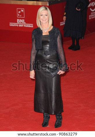 """Olivia Newton John at the premiere of """"A Few Best Men"""" during the 6th International Rome Film Festival. Oct 28, 2011, Rome, Italy Picture: Catchlight Media / Featureflash - stock photo"""