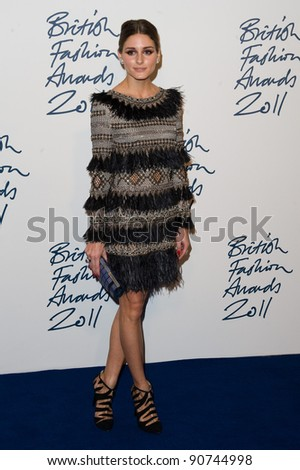 Olivia Palermo arriving for the 2011 British Fashion Awards, at The Savoy, London. 28/11/2011 Picture by: Simon Burchell / Featureflash - stock photo