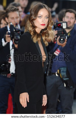 "Olivia Wilde arriving for the ""Rush"" World premiere at the Odeon Leicester Square, London. 02/09/2013"