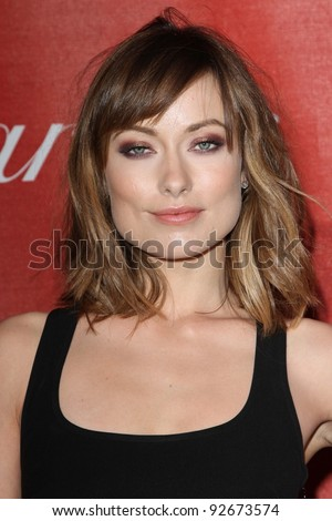 Olivia Wilde at the 23rd Annual Palm Springs International Film Festival Awards Gala, Palm Springs Convention Center, Palm Springs, CA 01-07-12
