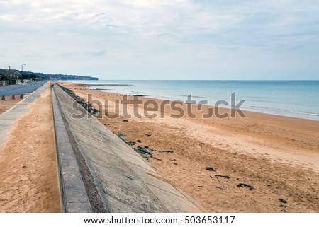 Omaha beach is one of the five landing beaches in the Normandy landings on 6 June 1944, during World War II. Omaha is located on the coast of Normandy, France