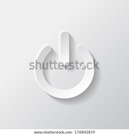 Onoff Switch Icon Power Symbol Stock Illustration 176842859