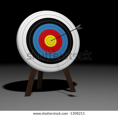 On Target high resolution 3D rendering