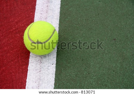 On the Line (2) - stock photo