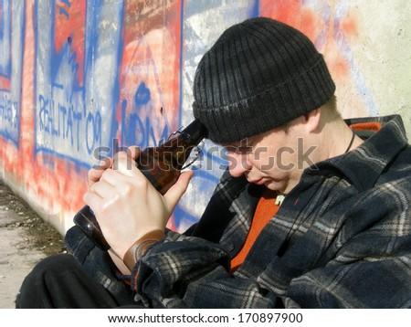 On the Street - stock photo