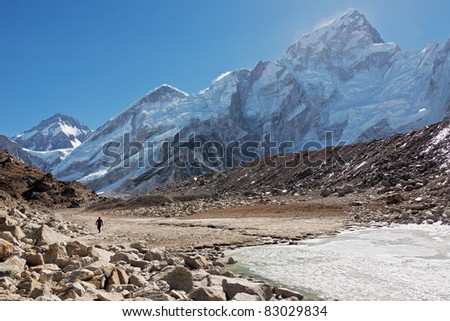On the trail to Mt. Everest - Nepal