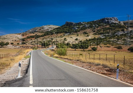On the way to Ronda, Spain
