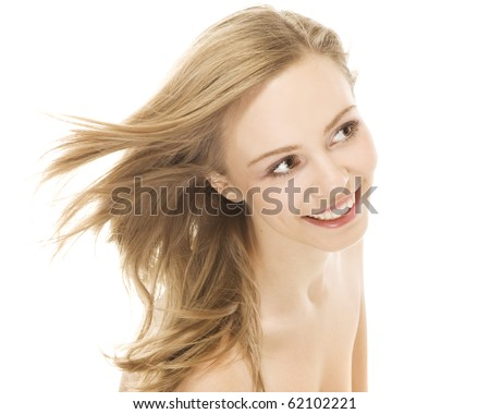 Sexual Naked Girl Sitting On Bed Stock Photo 47529847