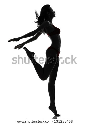 Woman Side View Silhouette Stock Images, Royalty-Free ...