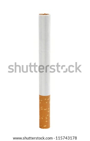 One Cigarette isolated