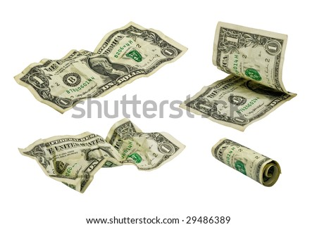 one dollar banknotes far between