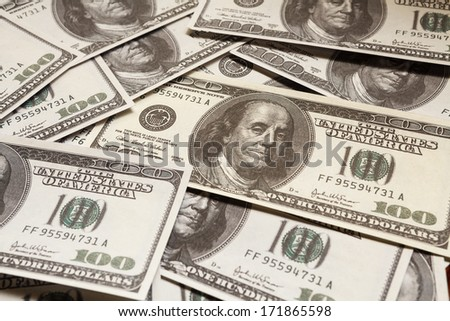 One hundred dollars, money, US