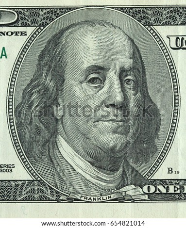 One hundred dollars with one note