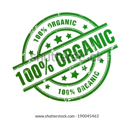 one hundred percent organic
