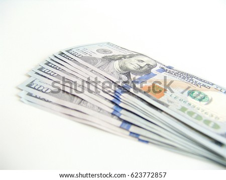 One Hundred US Dollar Banknote