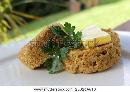One Minute Muffin 5 - stock photo