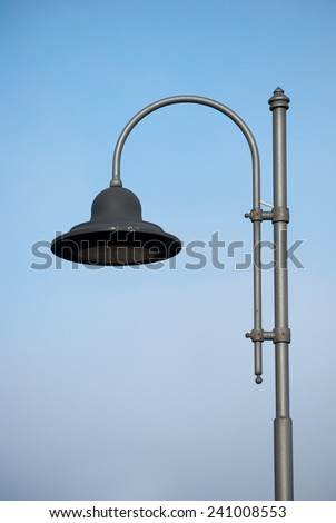 One modern street lamp cup style
