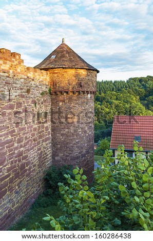 One of Germany's best-preserved castles is Trendelburg Castle in the Wester Mountains near Kassel. Chartered in 1301