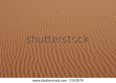 one of several sand background shots- wide version