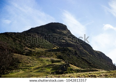 One of the awesome mountain in Scotland