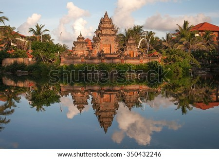 One Thousands Temples Bali Located Hotel Stock Photo - Where is bali located