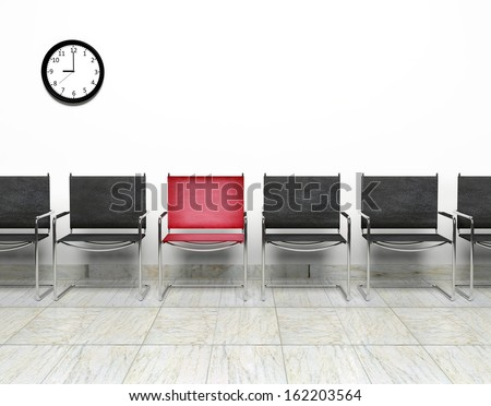 One opening for the job - stock photo