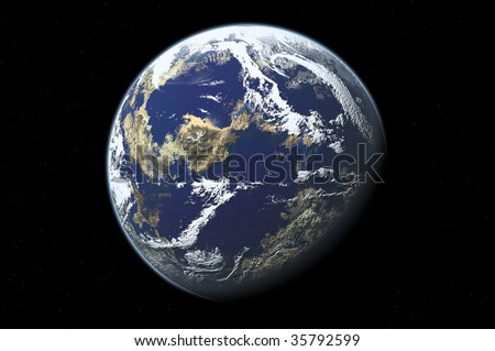 one planet in deep space12