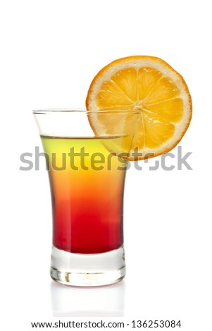 one refreshing alcoholic and non-alcoholic cocktail